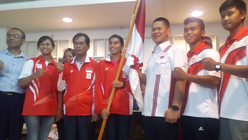 Kontingen Indonesia Bertolak ke Rio, Diyakini Bawa Pulang Emas