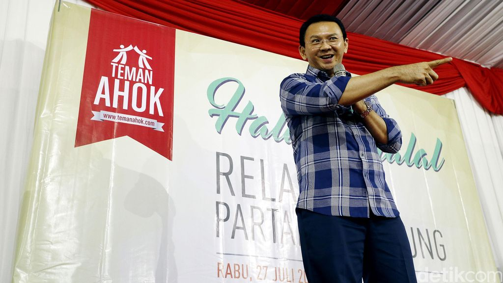 Teman Ahok: Tak Elok PDIP Beri Syarat untuk Dukung Ahok