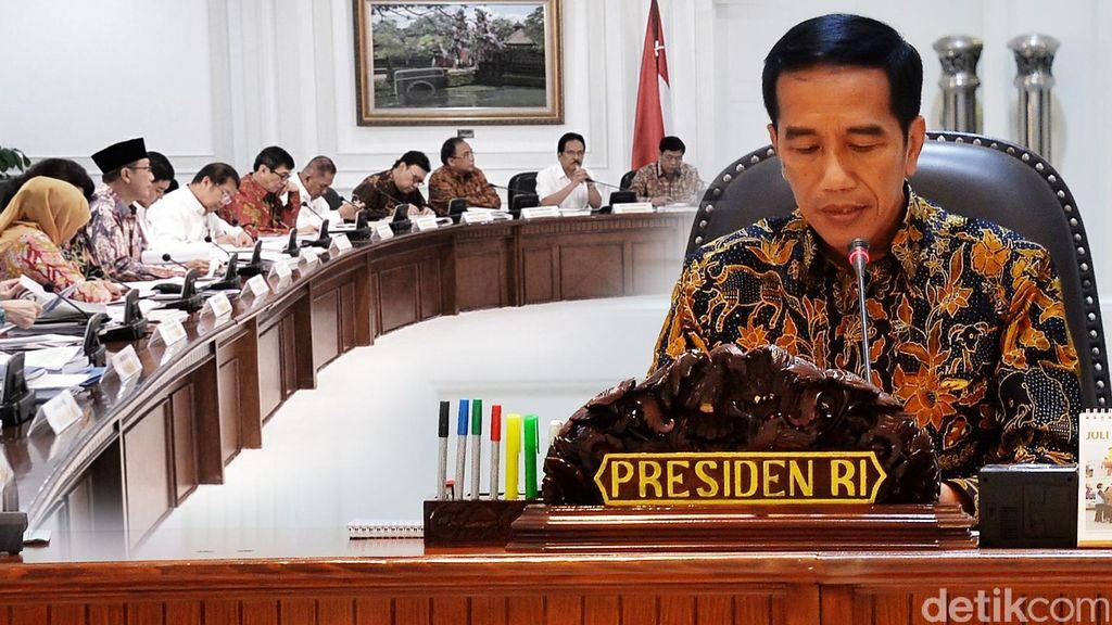 Ini Undangan Pelantikan Menteri Hasil Reshuffle Kabinet
