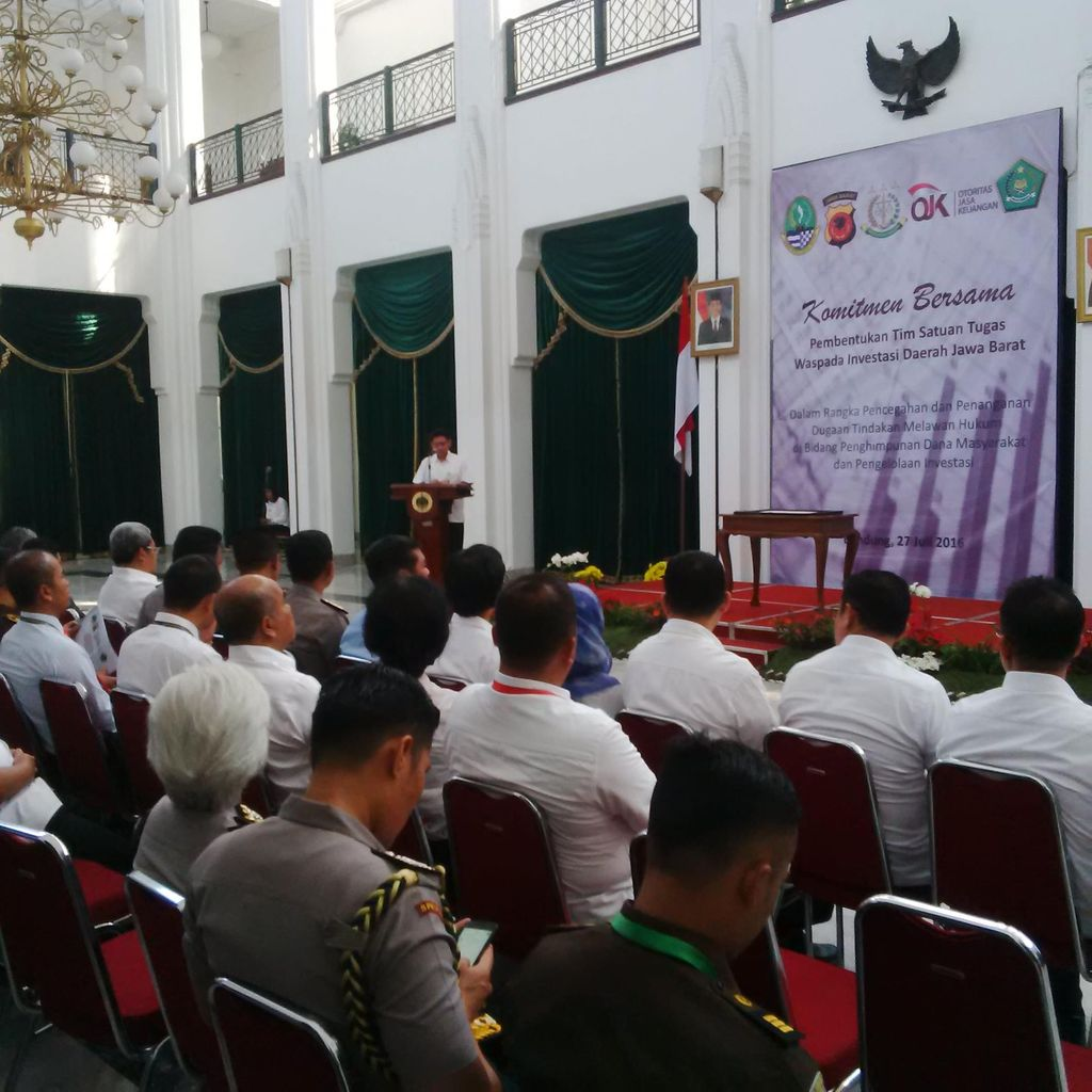 OJK Jabar Bentuk Tim Satgas Cegah Penipuan Berkedok Investasi Bodong