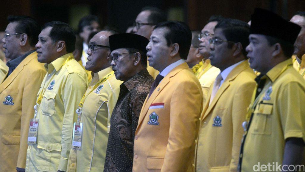 Ketika Keputusan Golkar Dukung Jokowi Dipertanyakan Kader di Rapimnas