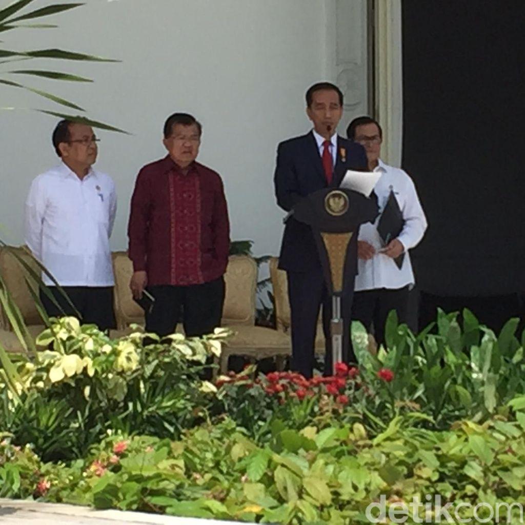 Jokowi Umumkan Reshuffle Kabinet: Harus Lebih Cepat, Solid, dan Saling Dukung
