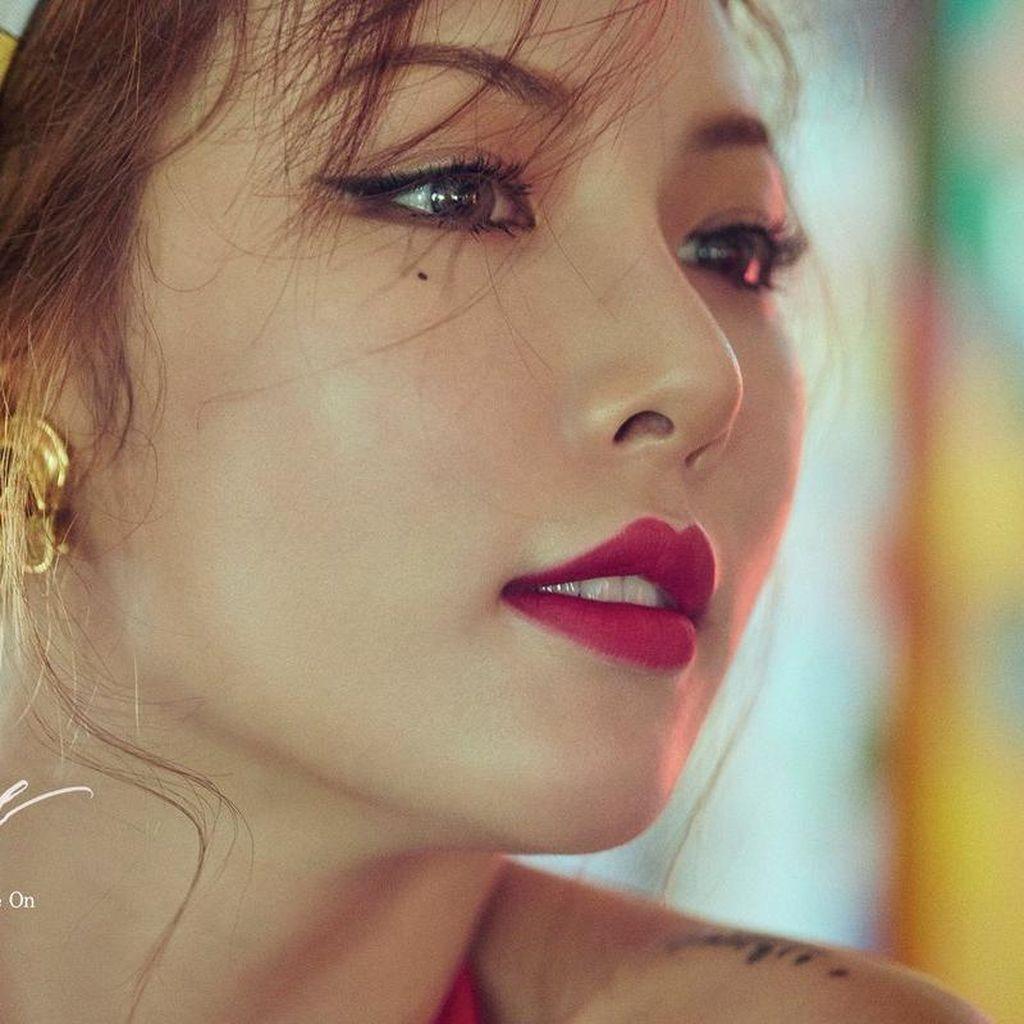 HyunA Nyaman Tidur dengan <i>Lingerie</i>