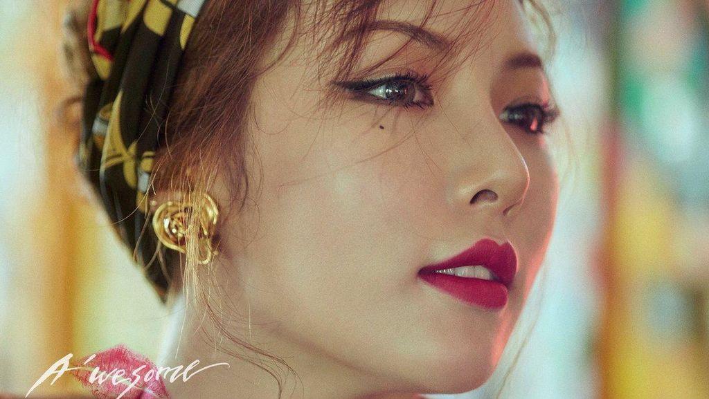 HyunA Seksi Banget di Teaser Foto Terbaru Awesome
