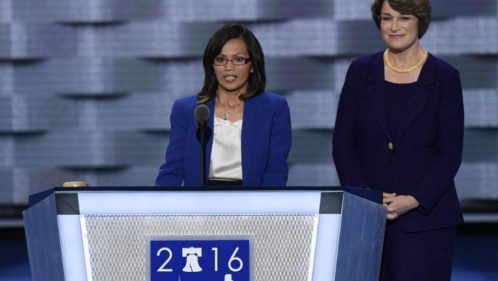Pidato di Konvensi Demokrat, Ima Matul Minta Hillary Akhiri Human Trafficking