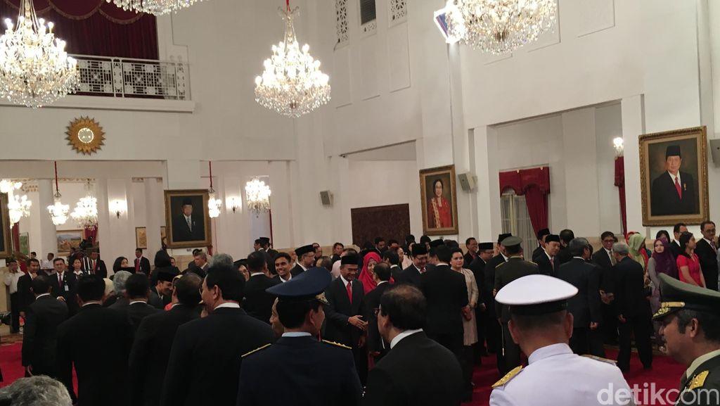Menteri Mulai Berdatangan ke Istana Jelang Pelantikan Kabinet Baru
