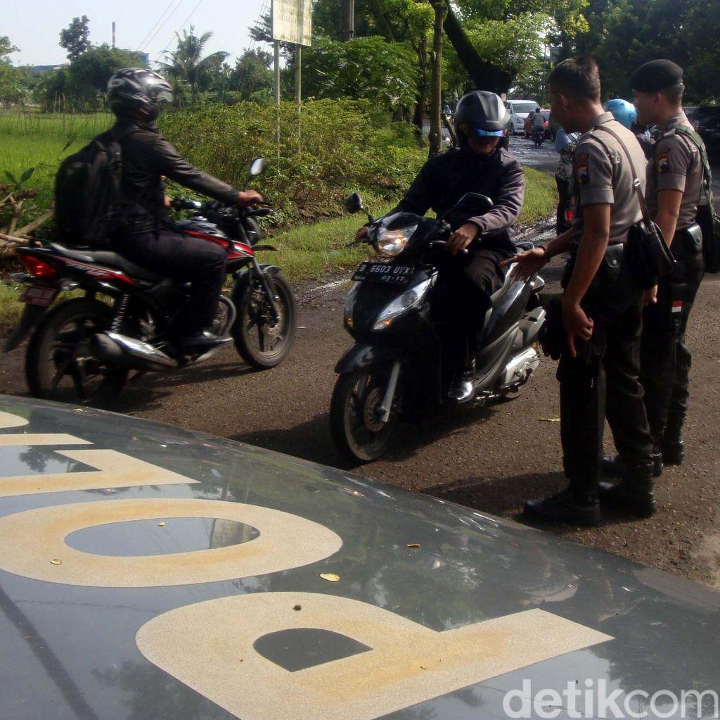 Polisi Mulai Sterilisasi Dermaga Wijaya Pura, Begini Suasananya