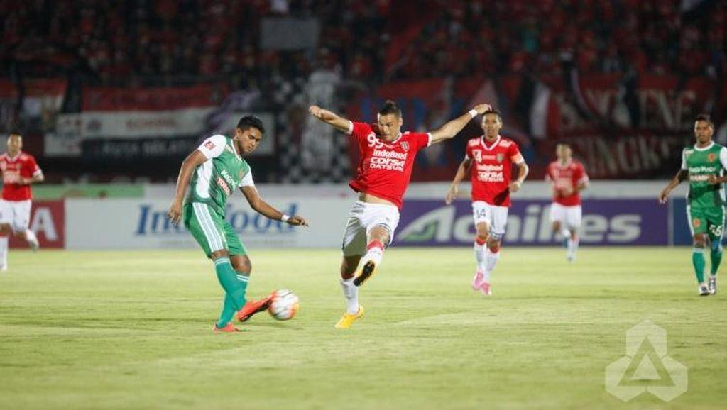 Sempat Tertinggal Dua Gol, Bali United Berimbang dengan PS TNI