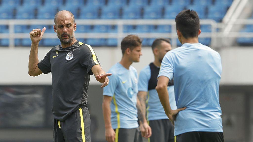 Peraturan Ketat Guardiola di City: Pemain Kegemukan Dilarang Ikut Latihan