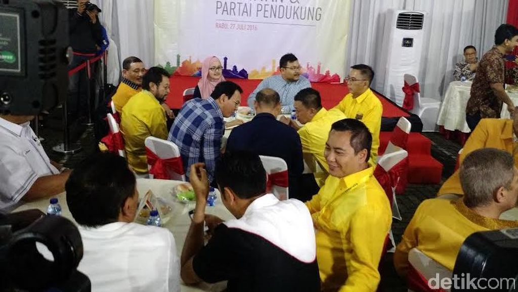 Habiburokhman: Maju Lewat Parpol, Ahok Mencla-mencle