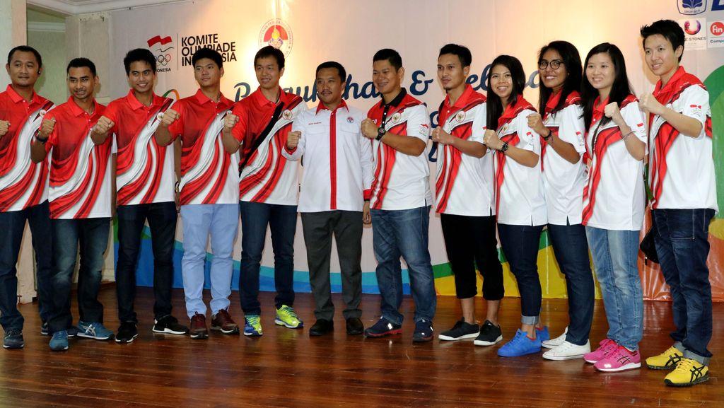 Tim Bulutangkis Indonesia Terbang ke Brasil