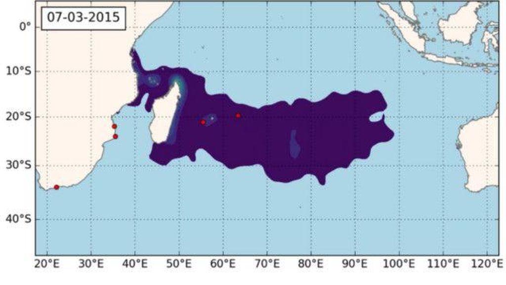 Peneliti Italia: Letak MH370 Kemungkinan Jauh ke Utara