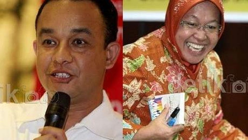 Lebih Strategis Calonkan Risma atau Anies Baswedan ke Pilgub DKI