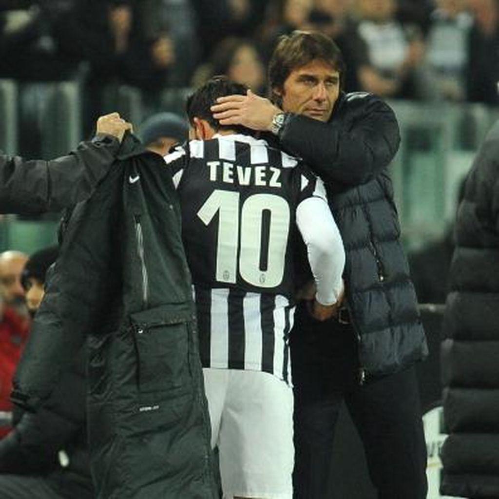 Soal Rumor Tevez, Conte: Saya Doakan yang Terbaik untuknya