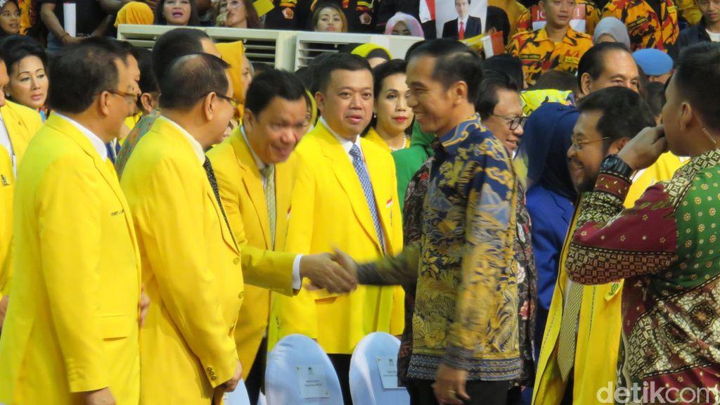 Perkuat Dukungan Pemerintahan Jokowi, Golkar Kumpulkan Kepala Daerah