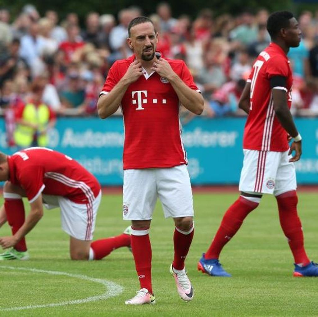 Ribery Ungkap Prioritasnya di Musim 2016-17