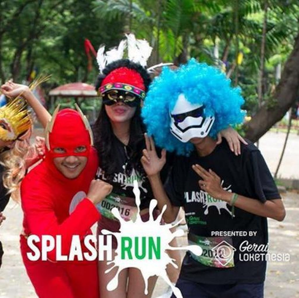 Akhir Pekan Ini Ada Acara Splash Run di Ancol