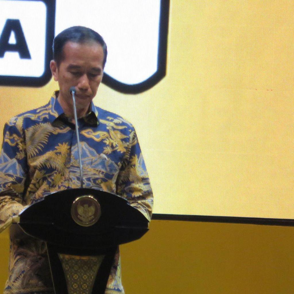 Jokowi: Dukungan Golkar Benar Nggak sih?
