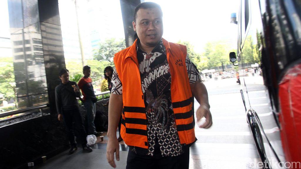 Bupati Ojang Jalani Sidang Perdana di Pengadilan Tipikor Bandung