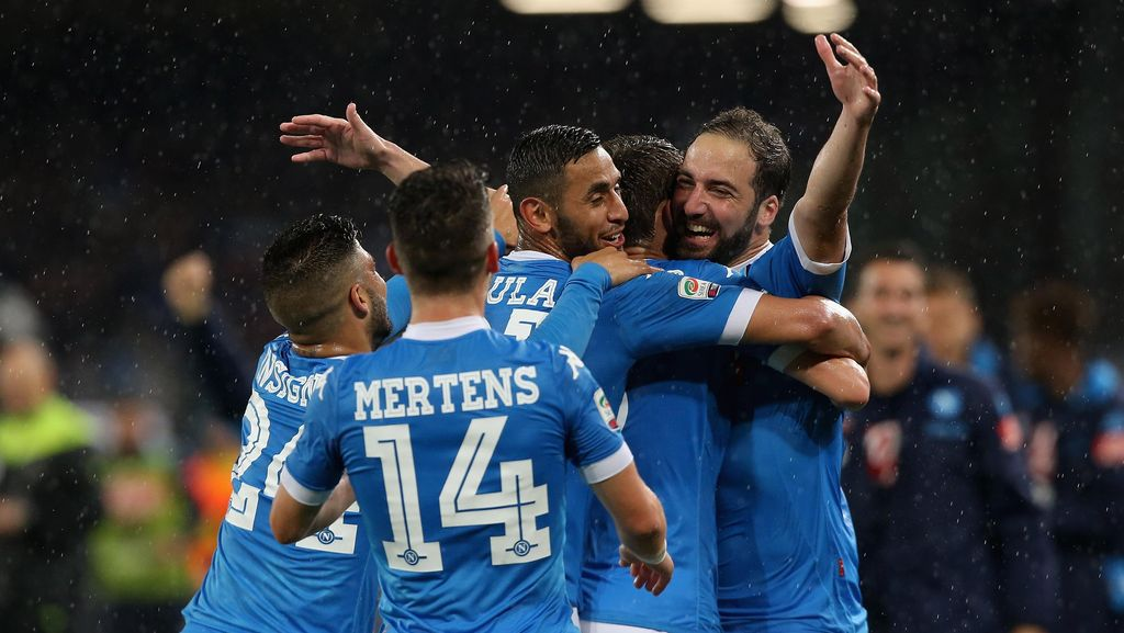 Napoli Tak Ratapi Kepergian Higuain, Optimistis dengan Kans Juara