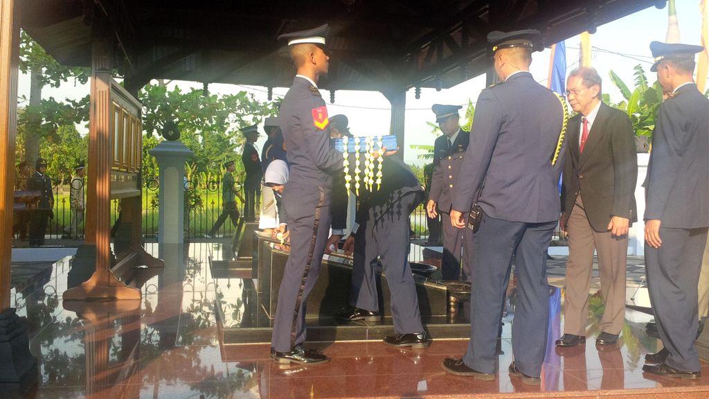 KSAU Pimpin Ziarah Hari Bakti ke-69 di Monumen Perjuangan TNI AU Bantul