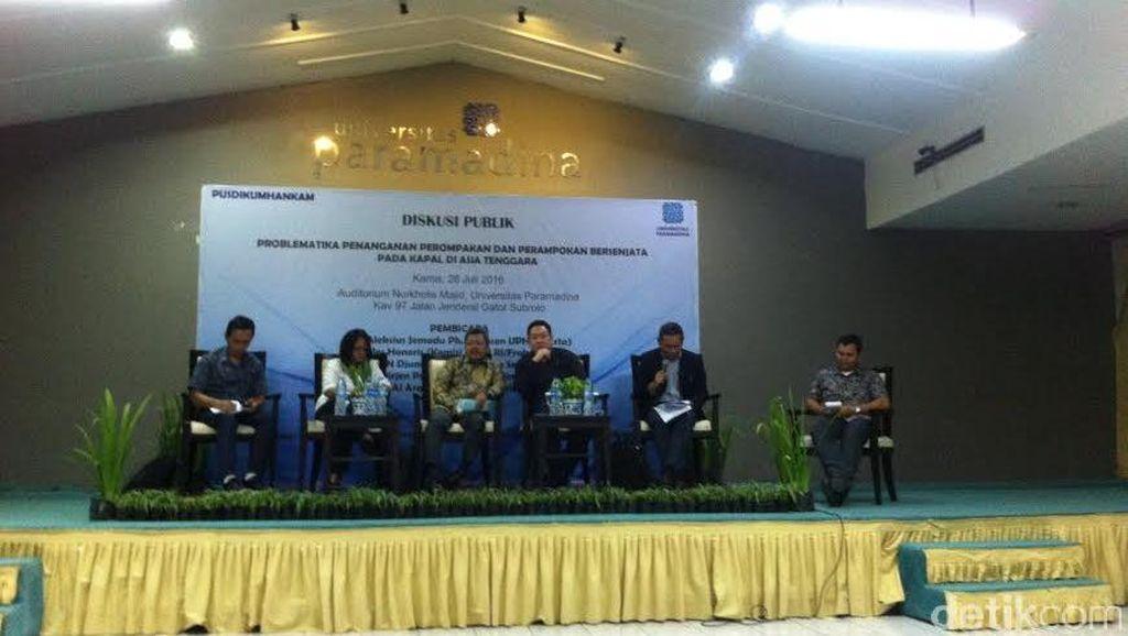 Indonesia, Malaysia, dan Filipina Tak Serius Lindungi Laut dari Perompak