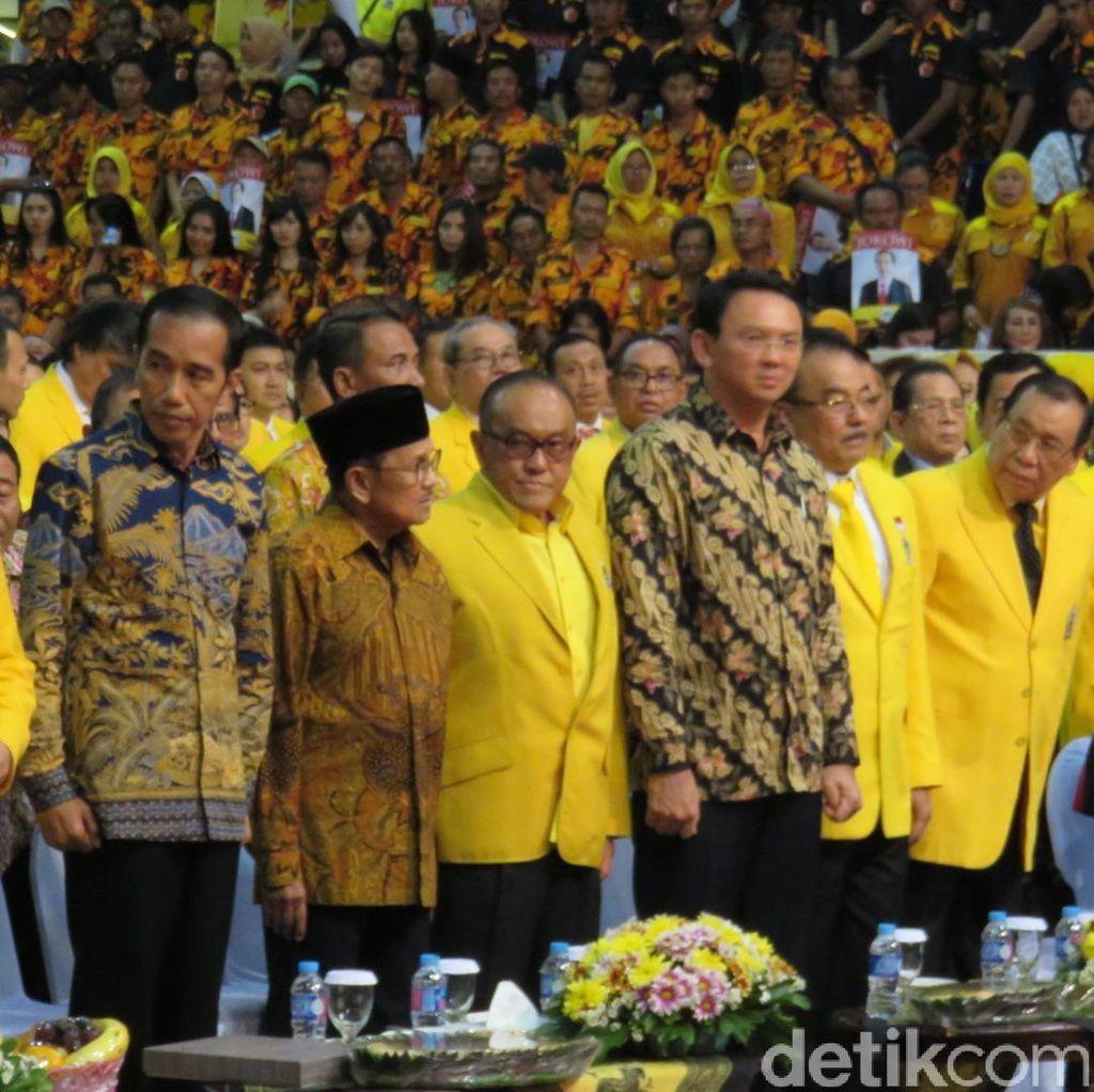 Sebelum ke Rapimnas Golkar, Ahok Temui Jokowi di Istana dan ke Rumah Mega