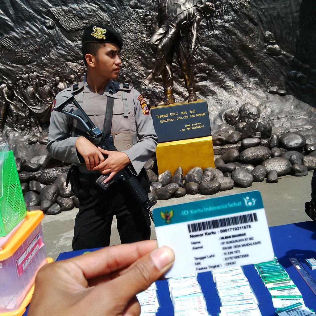 Pemalsu Kartu BPJS di Bandung Barat Juga Palsukan Kartu Indonesia Sehat