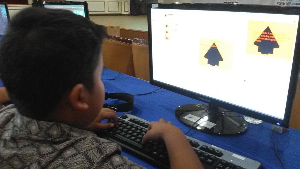 Begini Aksi Animator Belia di Indonesia Cyberkids Camp
