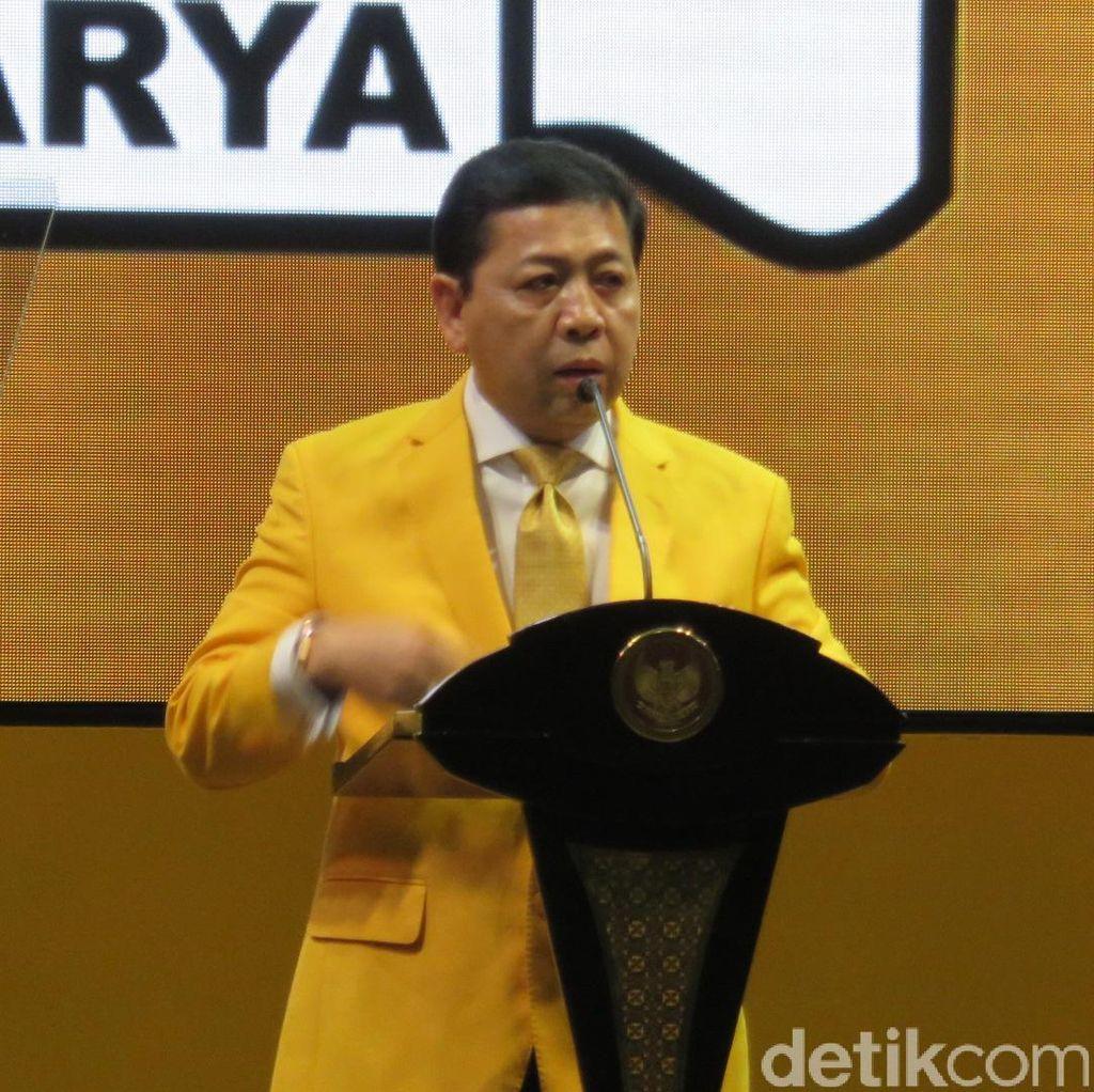 Jokowi Tak Komentar Soal Deklarasi Pencapresan, ini Kata Golkar