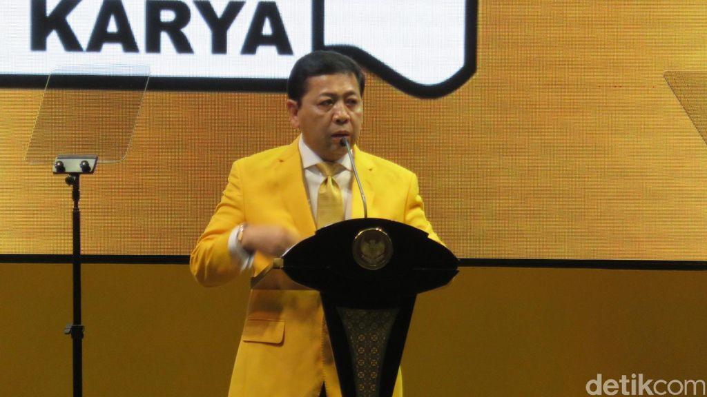 Golkar Rapatkan Barisan Dorong Novanto Jadi Ketua DPR Lagi