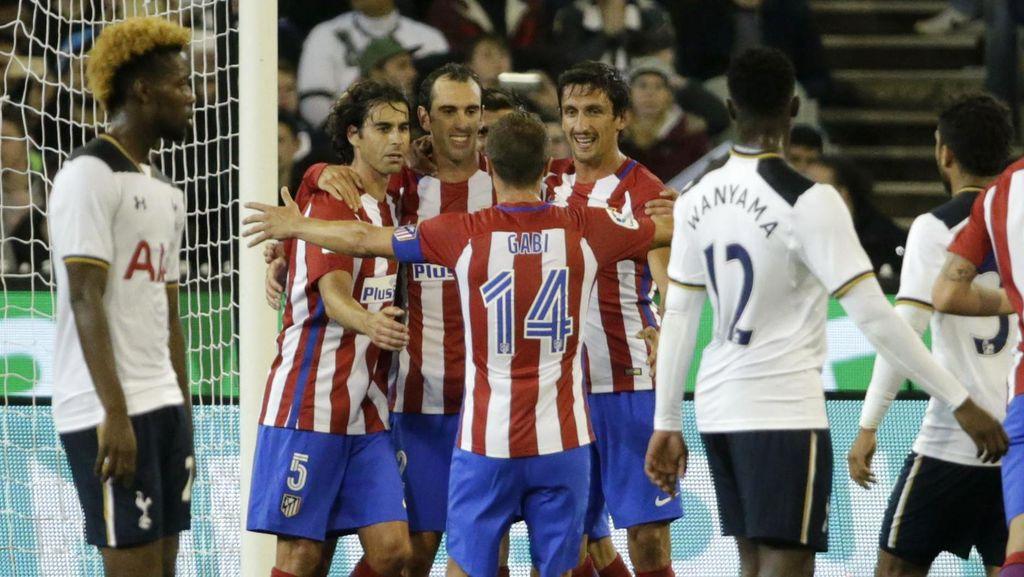 Gol Tunggal Godin Menangkan Atletico atas Tottenham