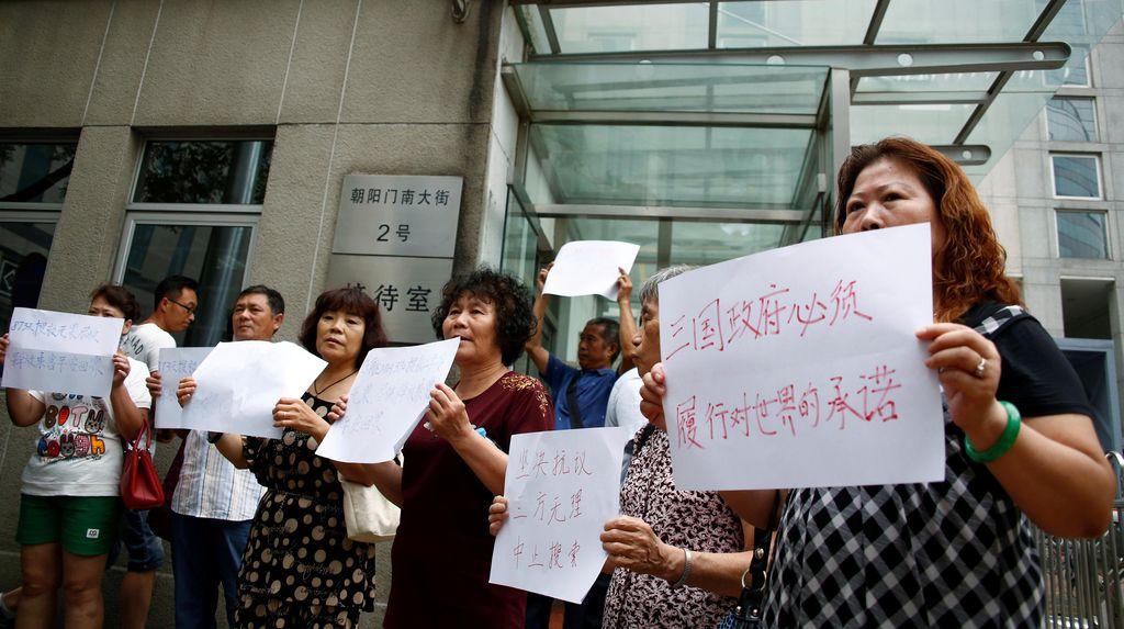 Keluarga Korban MH370 di China Minta Pencarian Terus Dilanjutkan