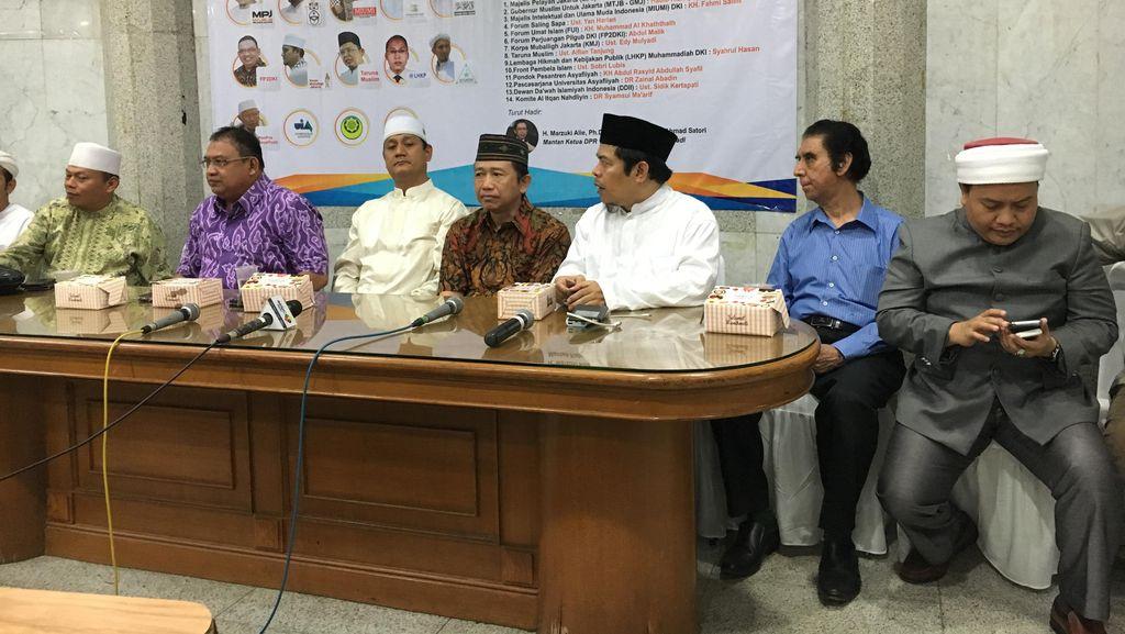 Marzuki Alie Bersama Ormas Islam DKI Desak Parpol Pilih Calon Gubernur Muslim