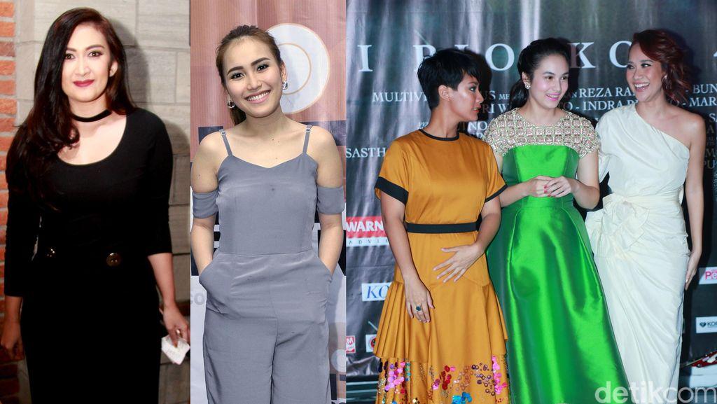 Penampilan Bintang 3 Srikandi, Nafa Urbach hingga Ayu Ting Ting