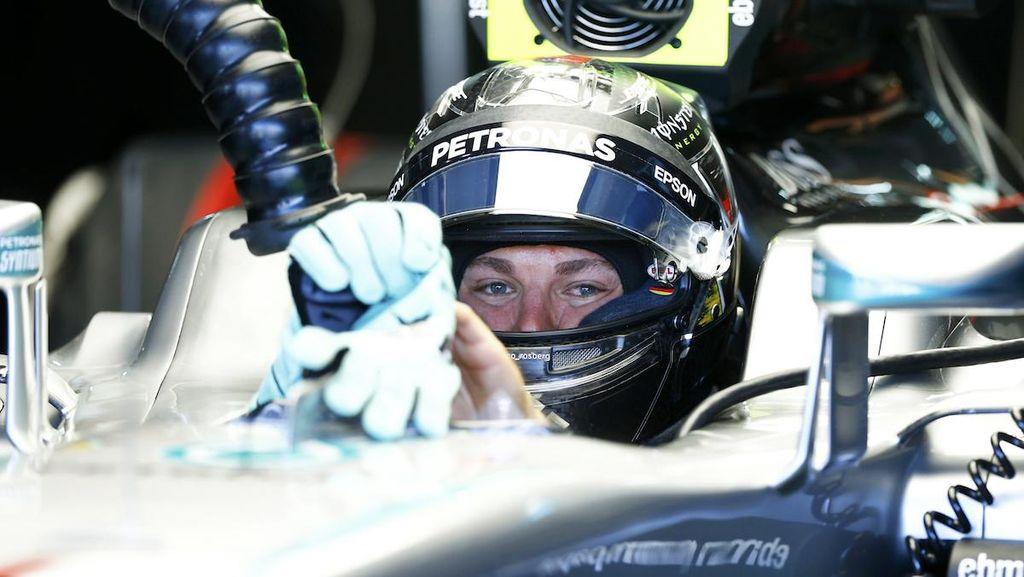 Sempat Alami Masalah, Rosberg Puas dengan Hasil di Kualifikasi