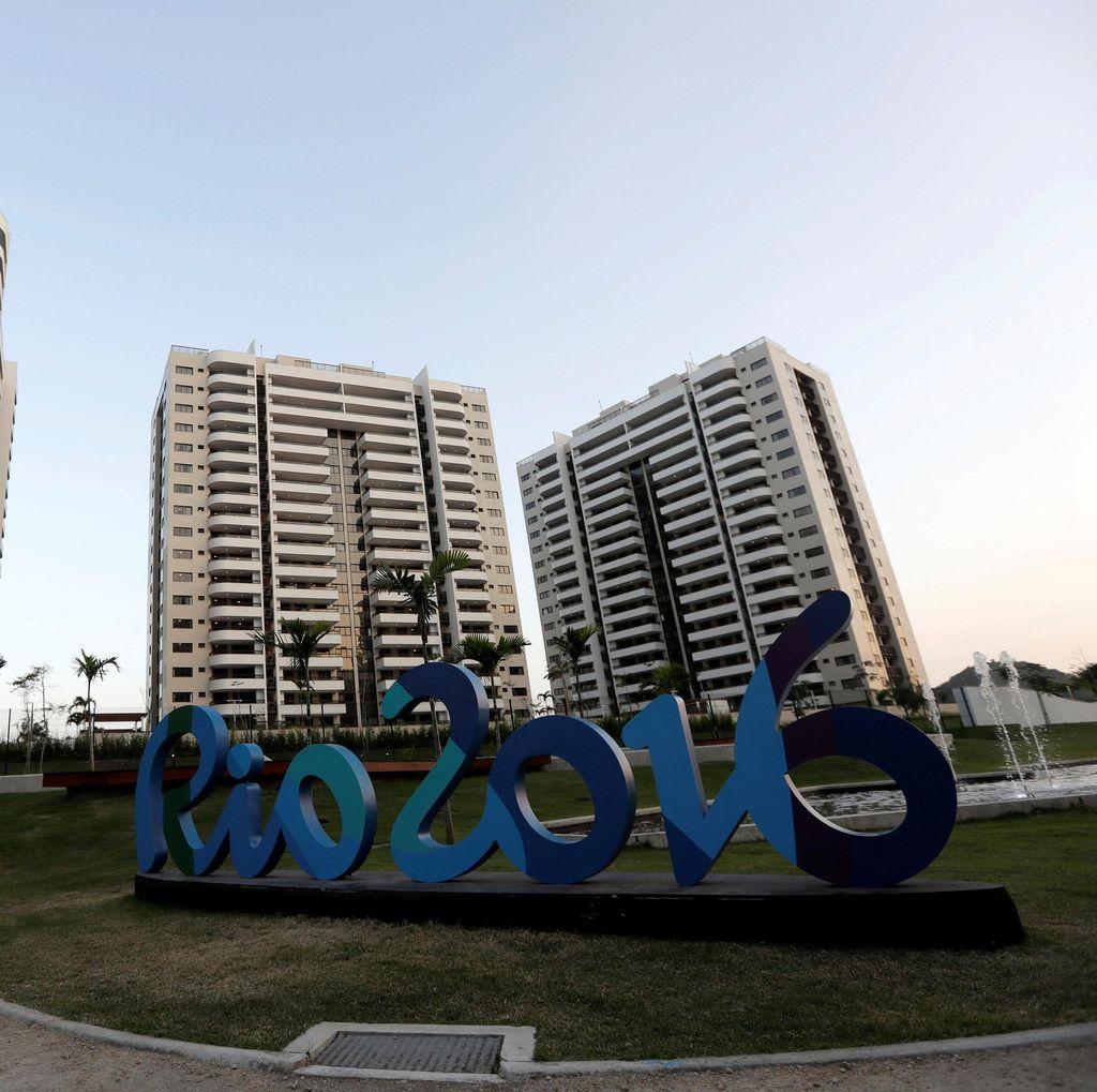 Kampung Atlet Olimpiade Rio Belum Beres Sepenuhnya