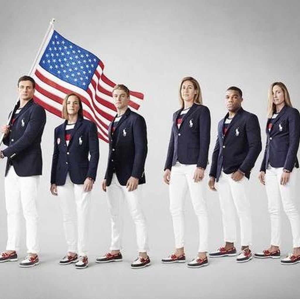 Kostum AS pada Defile di Olimpiade: Yang Penting Bikin Atlet Nyaman & Pede