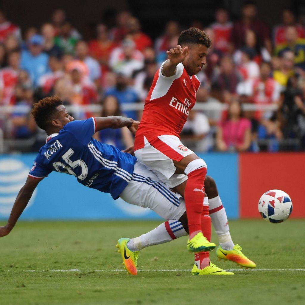 Arsenal Kalahkan MLS All-Stars