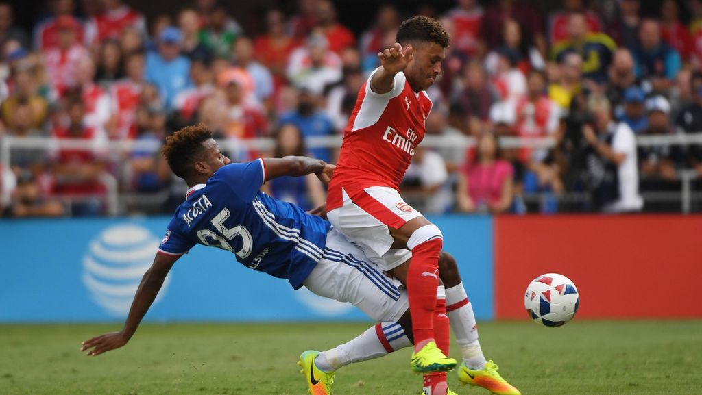 Arsenal Kalahkan MLS All-Stars