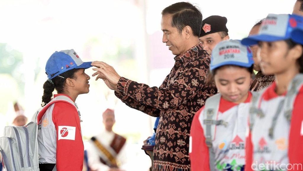 Jokowi Hadiri Peringatan Hari Keluarga Nasional