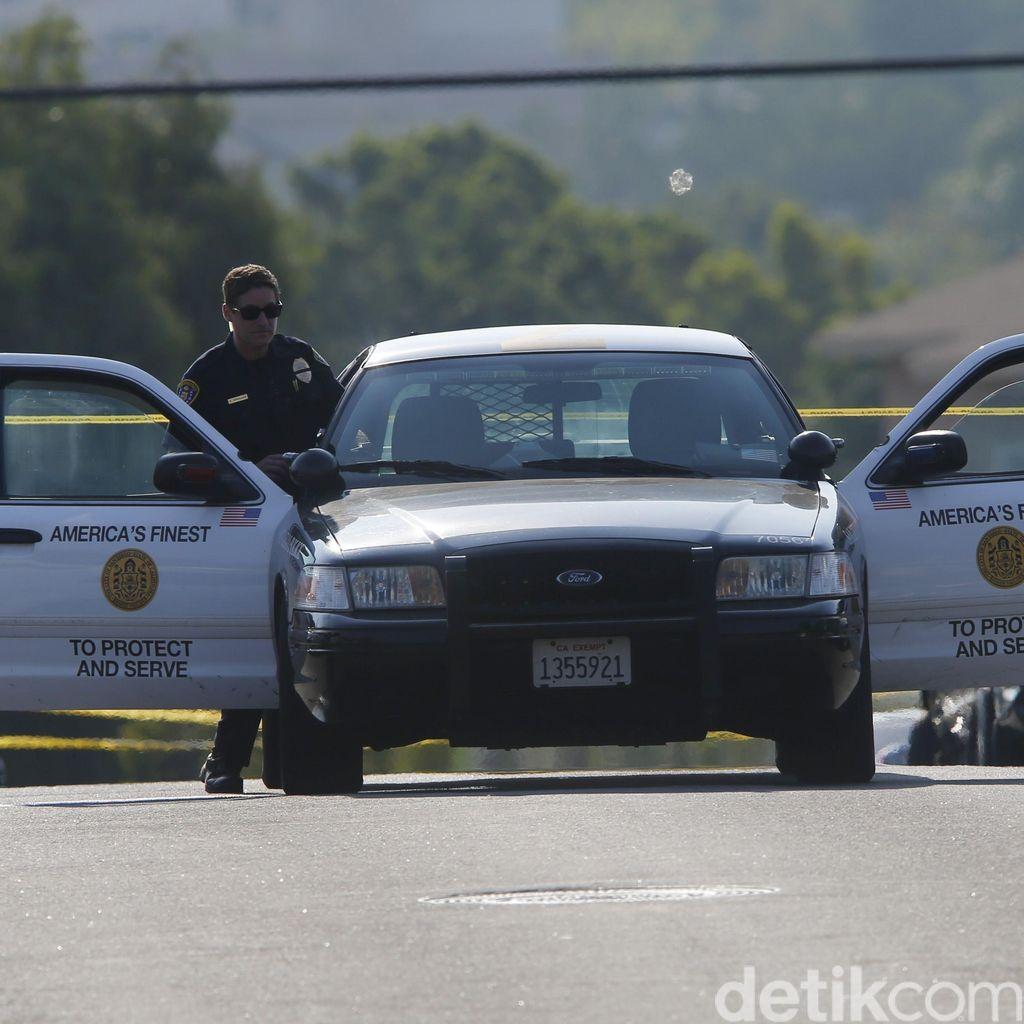 Polisi San Diego Tewas Ditembak di Lampu Merah