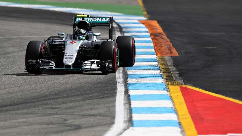 Rosberg Sapu Bersih Latihan Bebas di Hockenheim