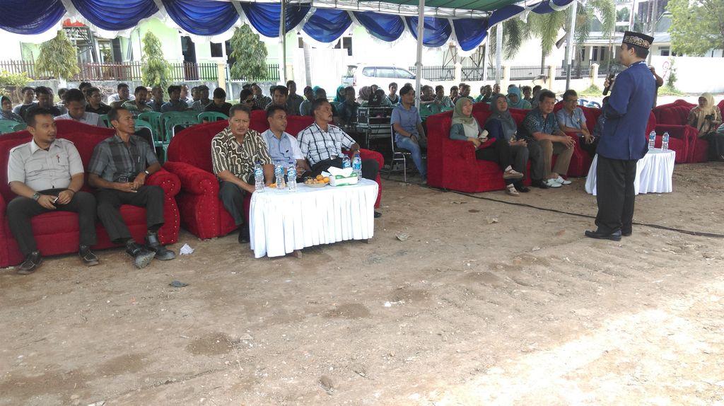 Syukuran Awali Pembangunan Tiang Pancang Green Hospital Pangkalpinang
