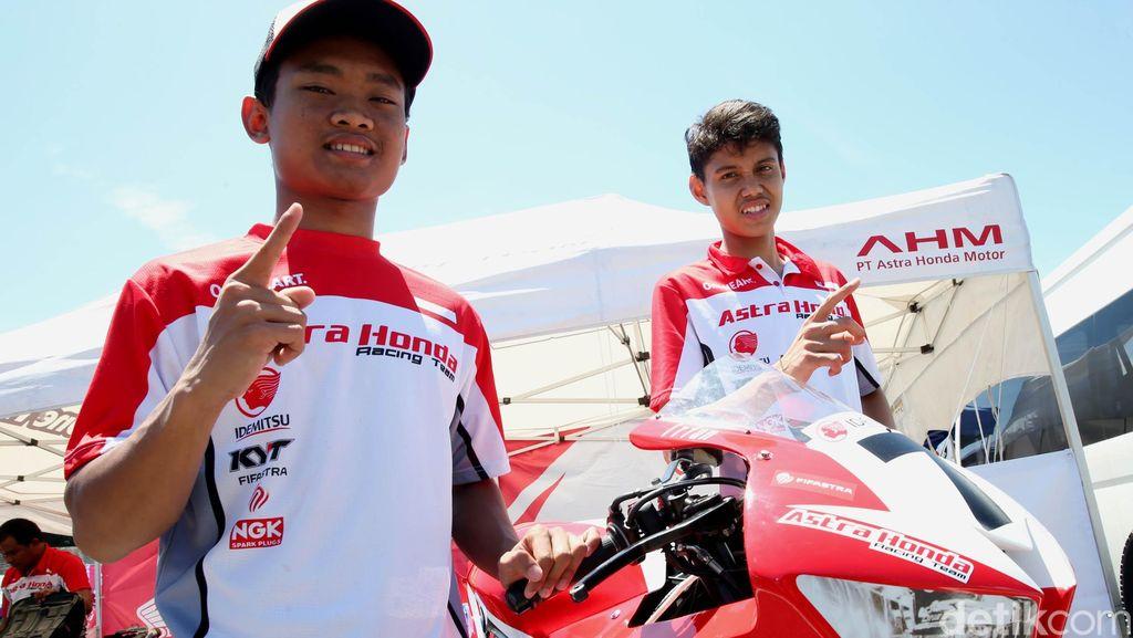 Rheza dan Irfan Impresif, Astra Racing Team Start Terdepan
