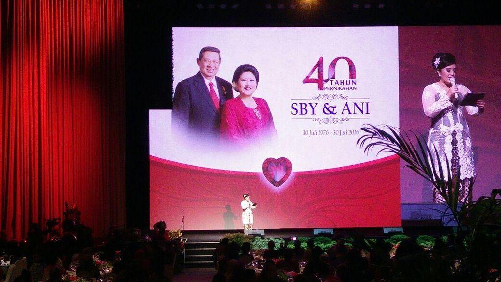 Sejumlah Tokoh Hadiri HUT ke-40 Pernikahan SBY-Ani