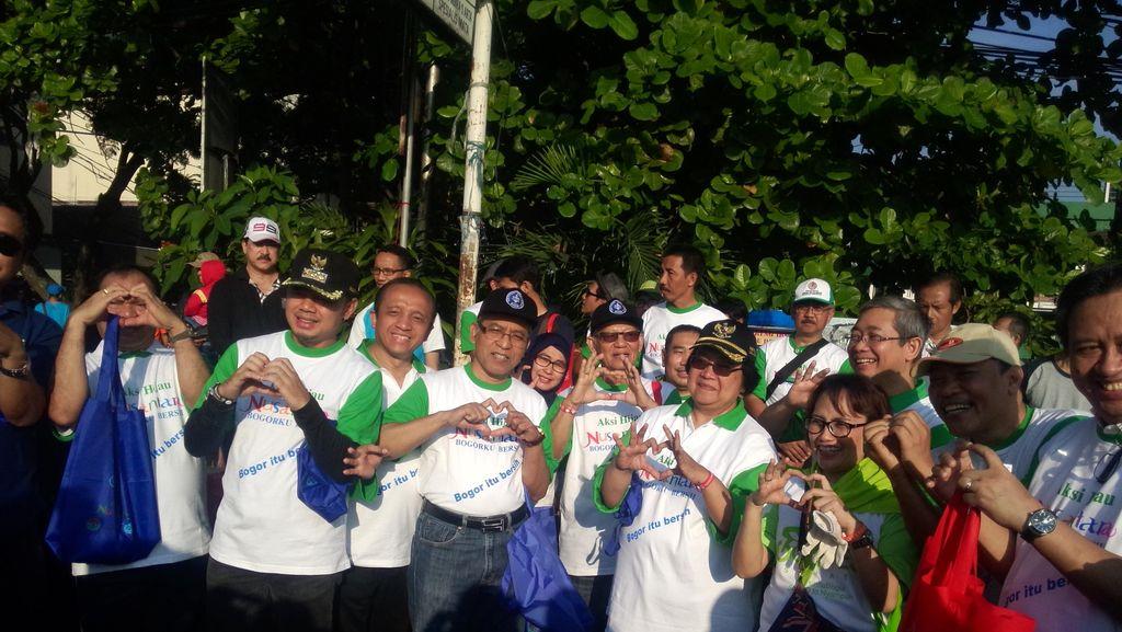 Menteri LHK dan Ribuan Warga Kota Bogor Ikut Aksi Hijau Nusantara