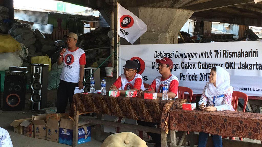 Muncul Lagi Dukungan untuk Risma di DKI, Kali Ini dari Warga di Kolong Tol