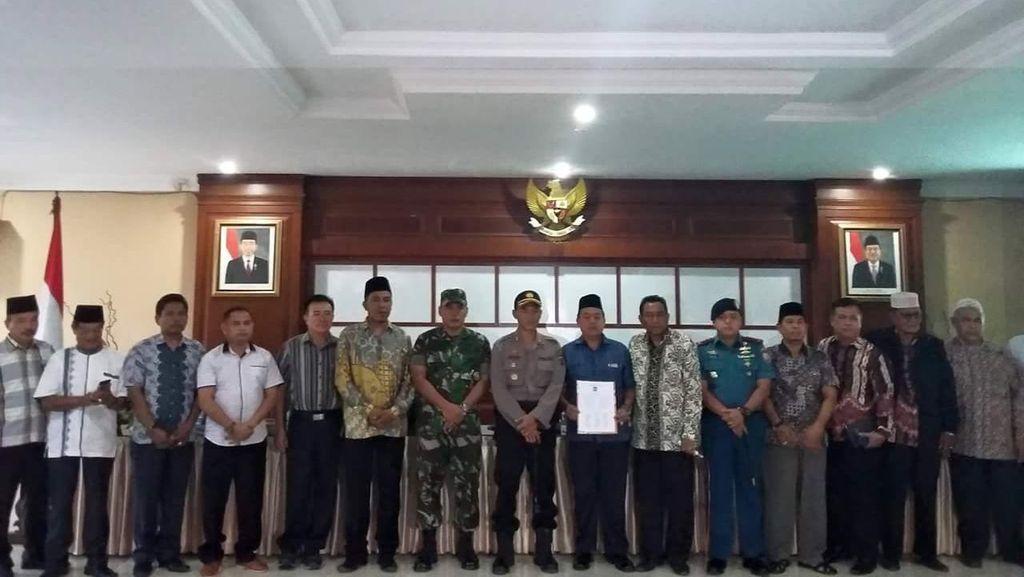 Ini 6 Poin Rekonsiliasi Jaga Kerukunan Umat Beragama di Tanjungbalai