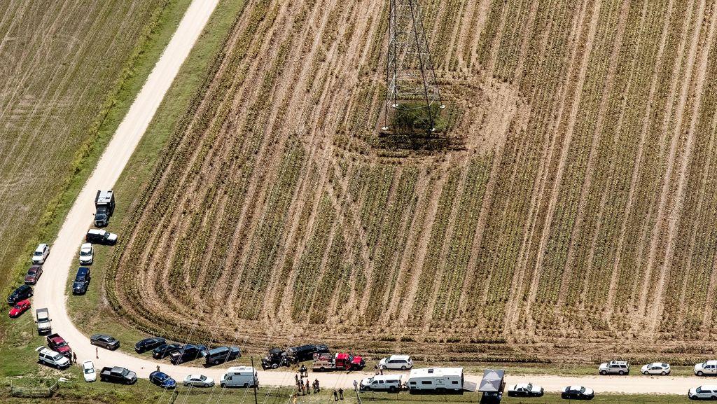 Balon Udara di Texas Diduga Jatuh Setelah Menabrak Kabel Listrik